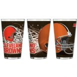 Cleveland Browns 16-Ounce Pint Glass